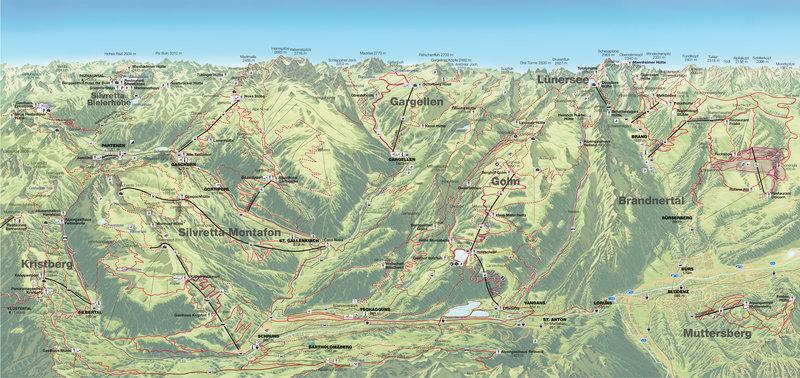 Sommerpanorama Montafon-Brandnertal (c)  - Bergbahnpool Montafon Brandnertal