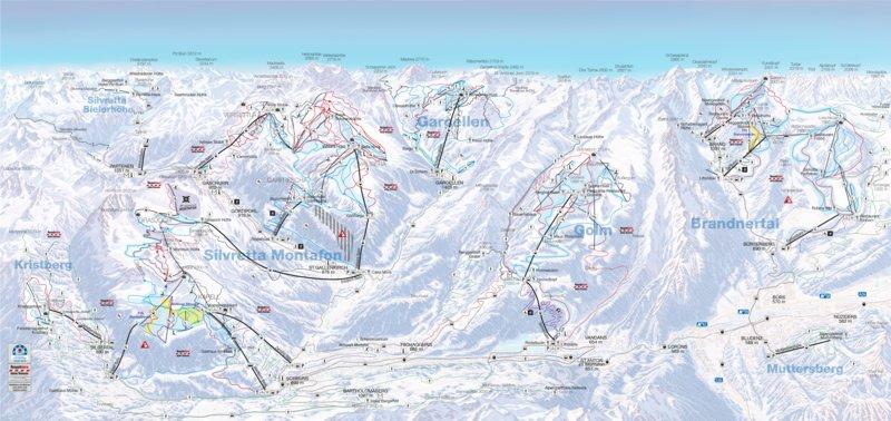 Winterpanorama - Montafon-Brandnertal  (c)  - Bergbahnpool Montafon Brandnertal