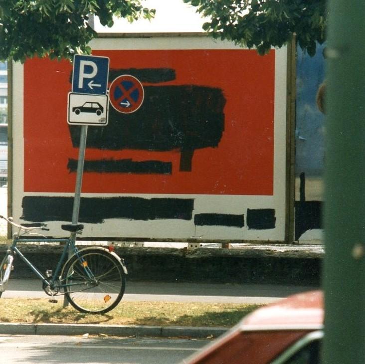 objektübermalung münchen 2001