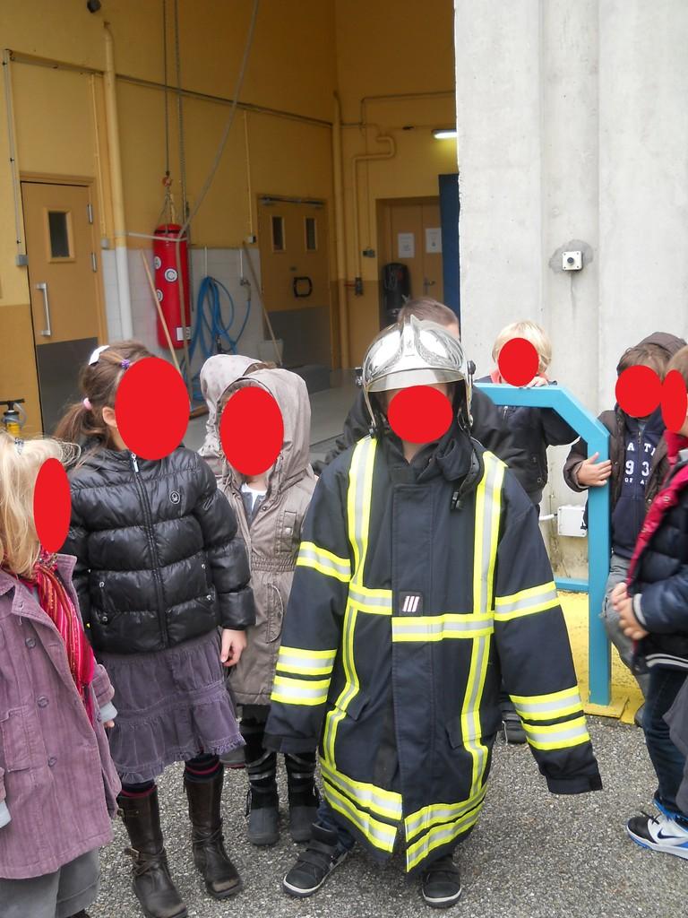 De futurs pompiers !...