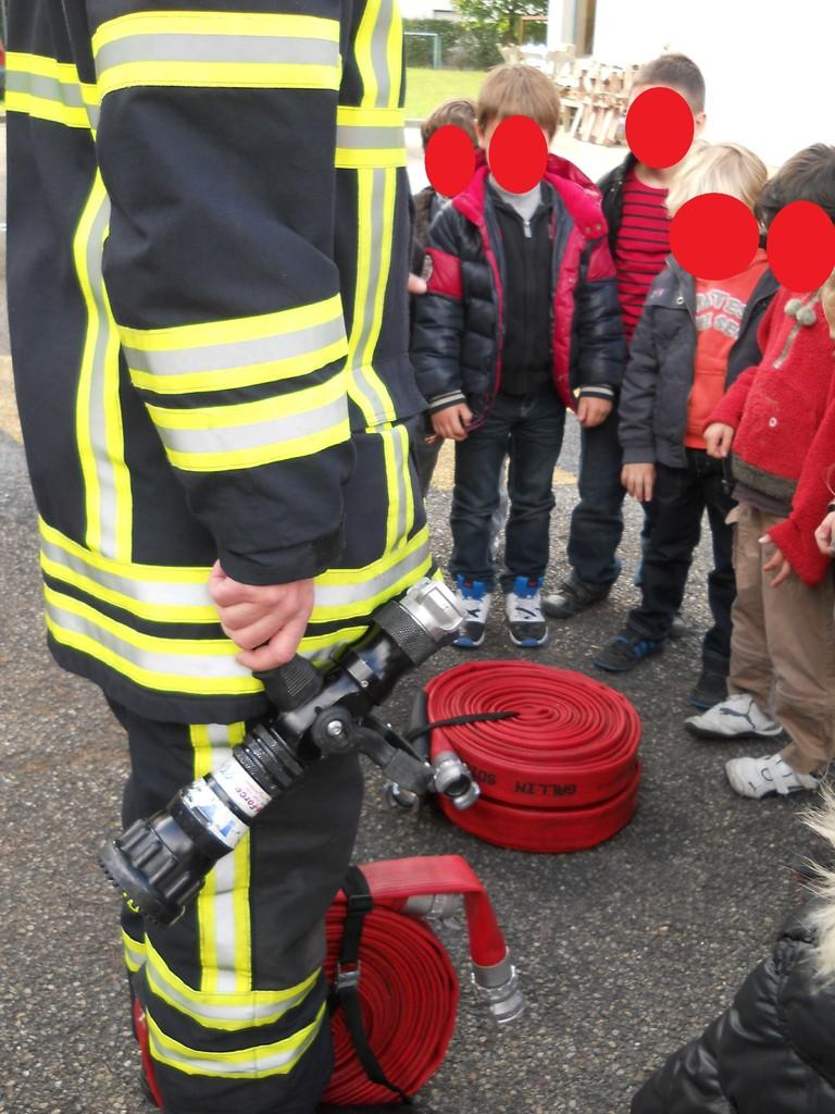Démonstration en cas d'incendie !...
