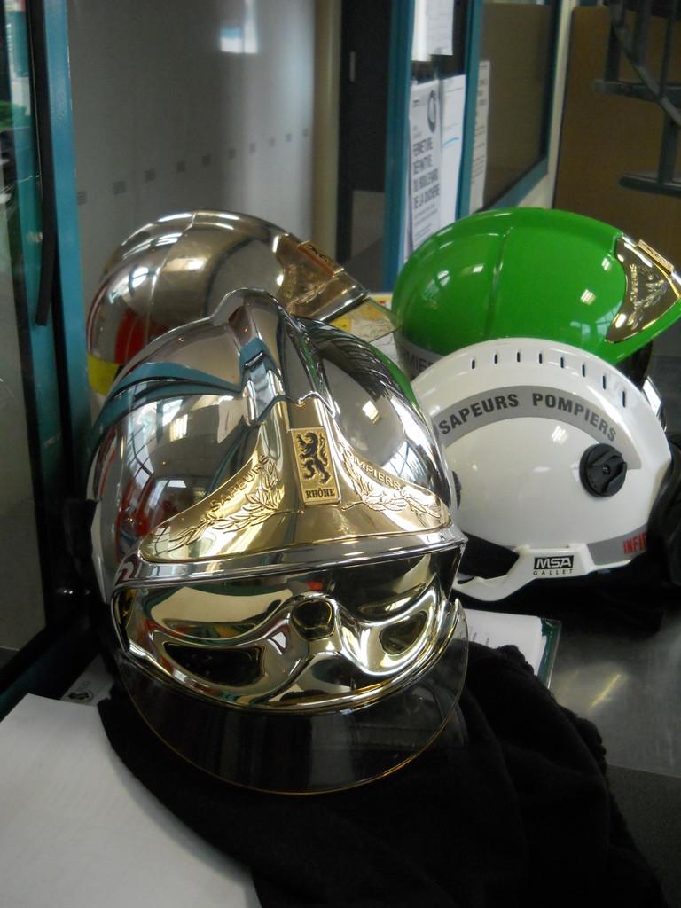 Les différents casques.
