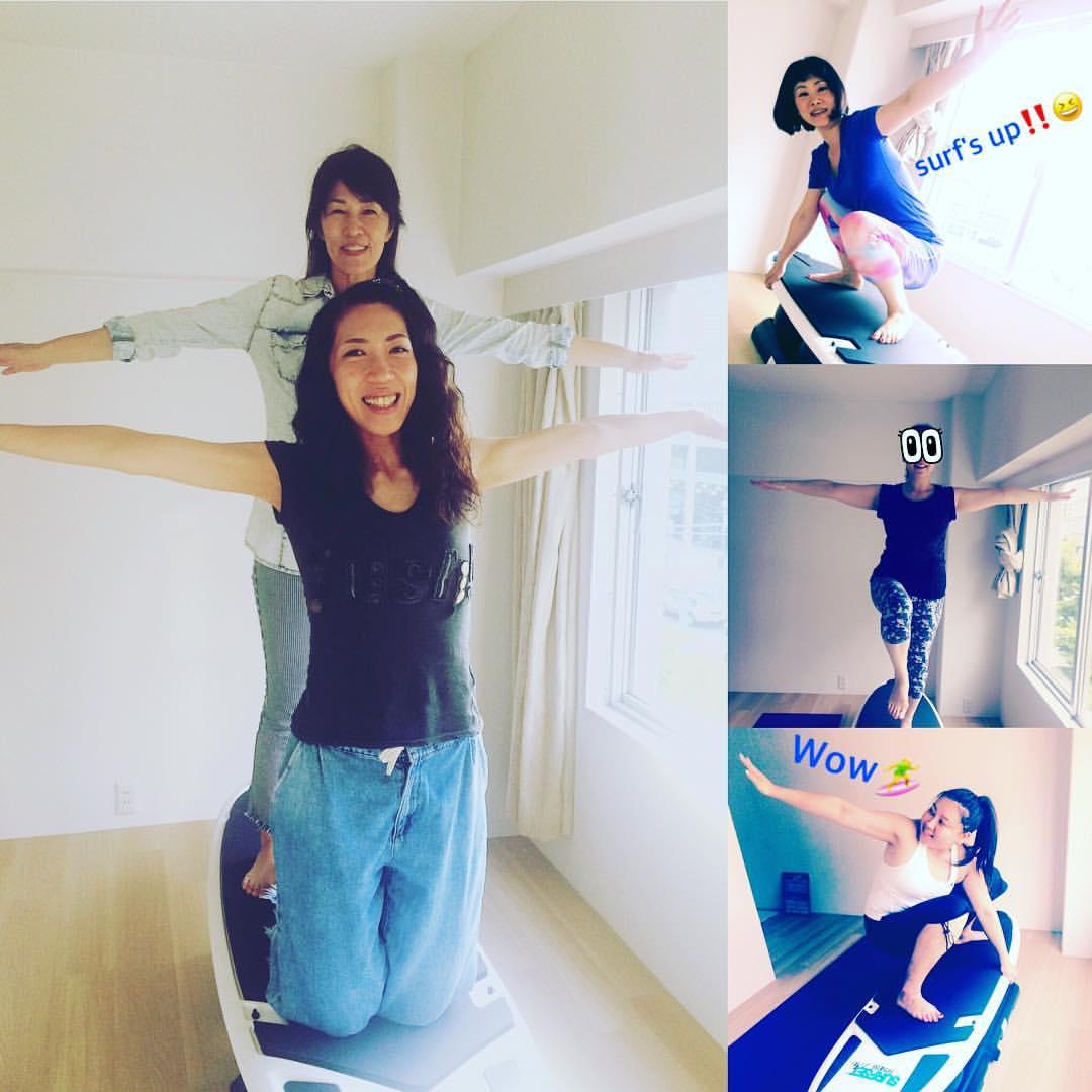 2017.7 室内Surf&Yoga