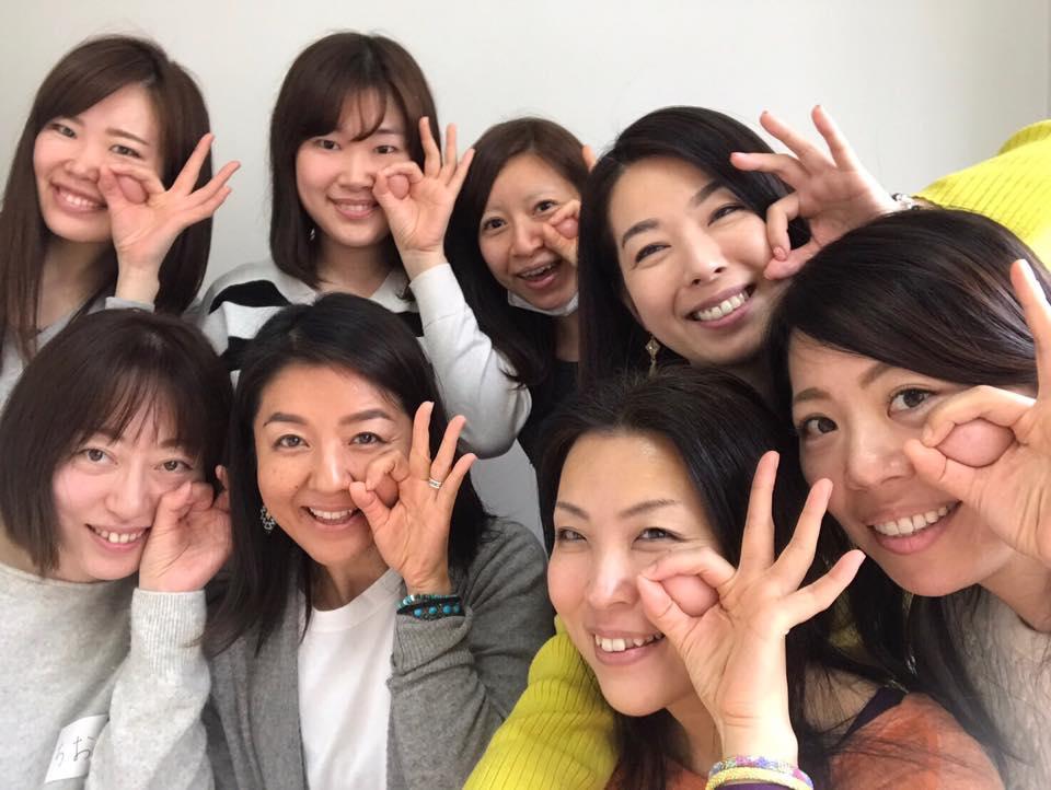 2017.3 1周年event顔ヨガworkshop