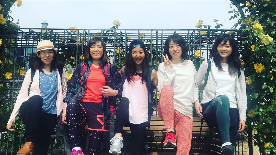 2018.4 PARK YOGA中之島バラ園は満開でした♡