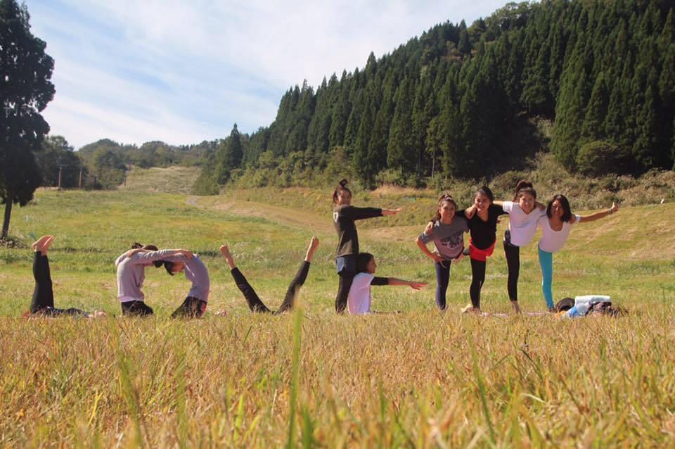 2016.10 山yoga!inハチ北高原 LOVE