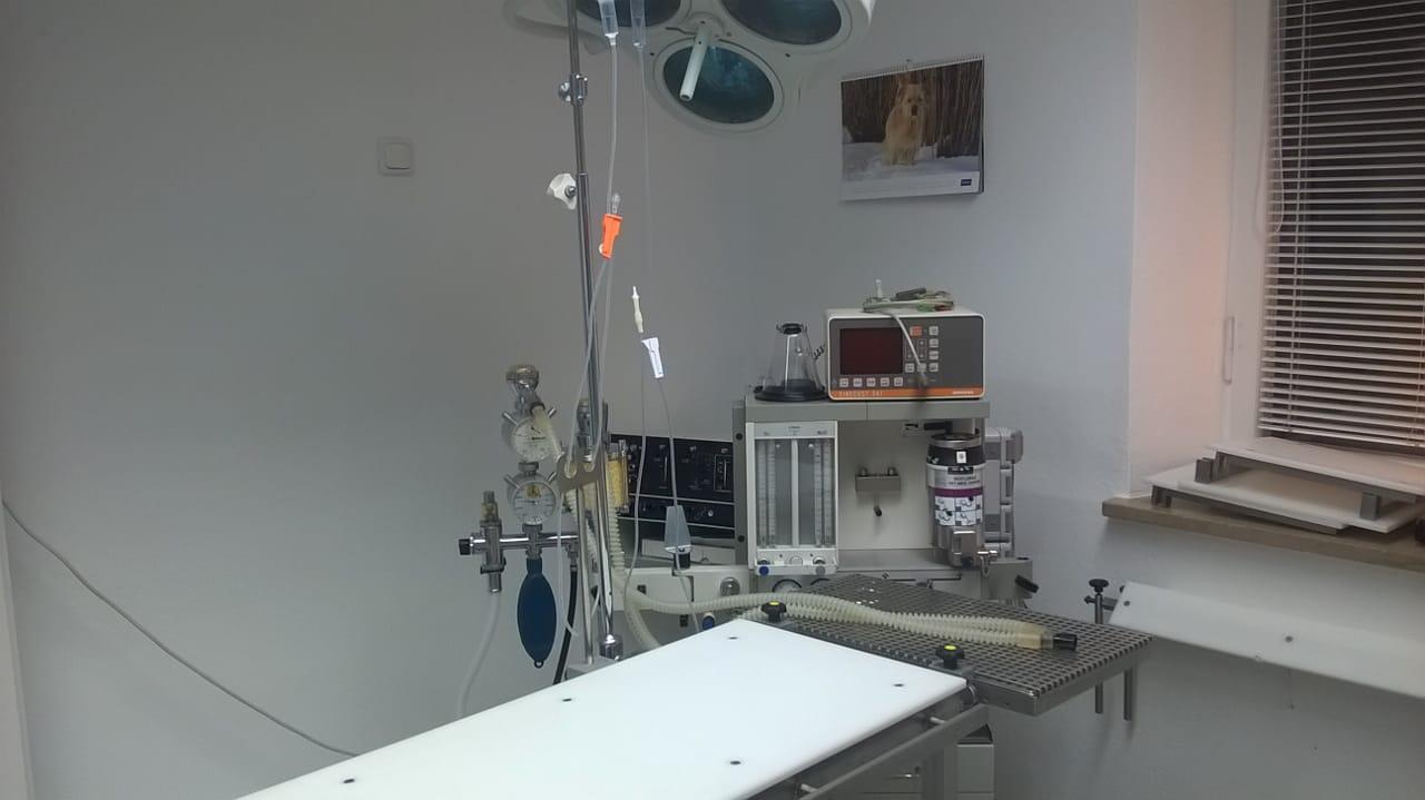 Inhalationsnarkosegerät mit Monitoring