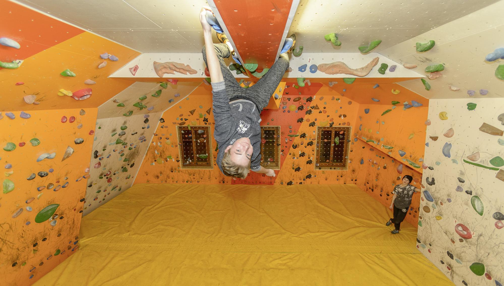 salle d'escalade