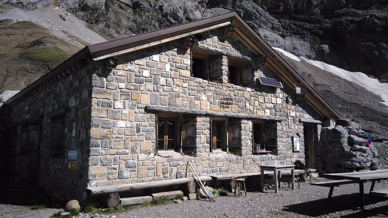 Refuge Pierredar VD 2300m