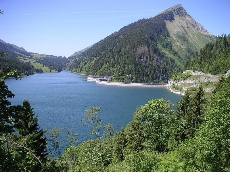 1 Lac de l'Hongrin