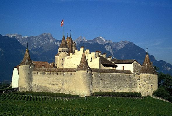 Chateau d'Aigle (visite ok)