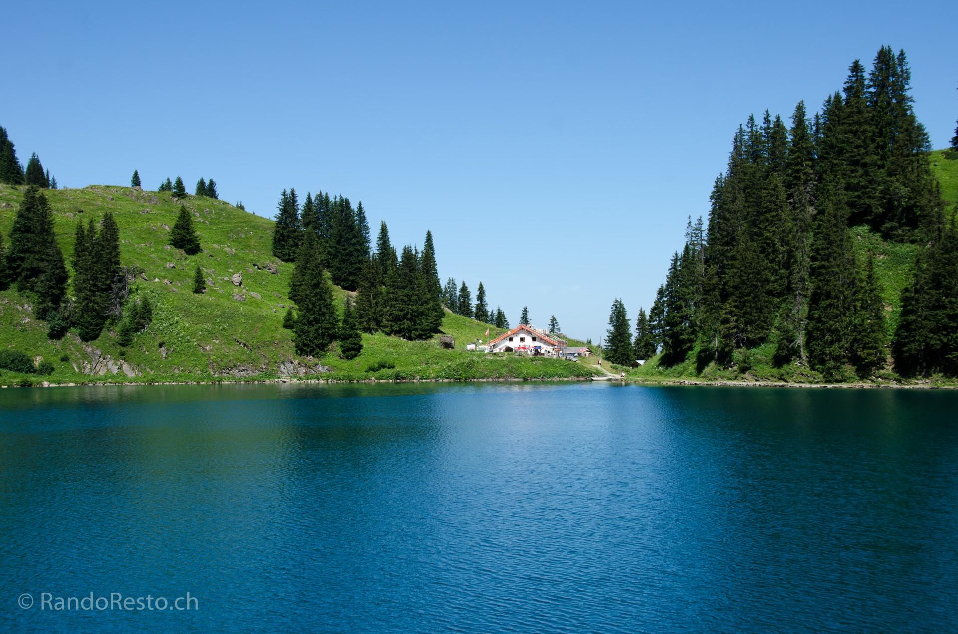 Refuge du lac Lioson VD 1850m