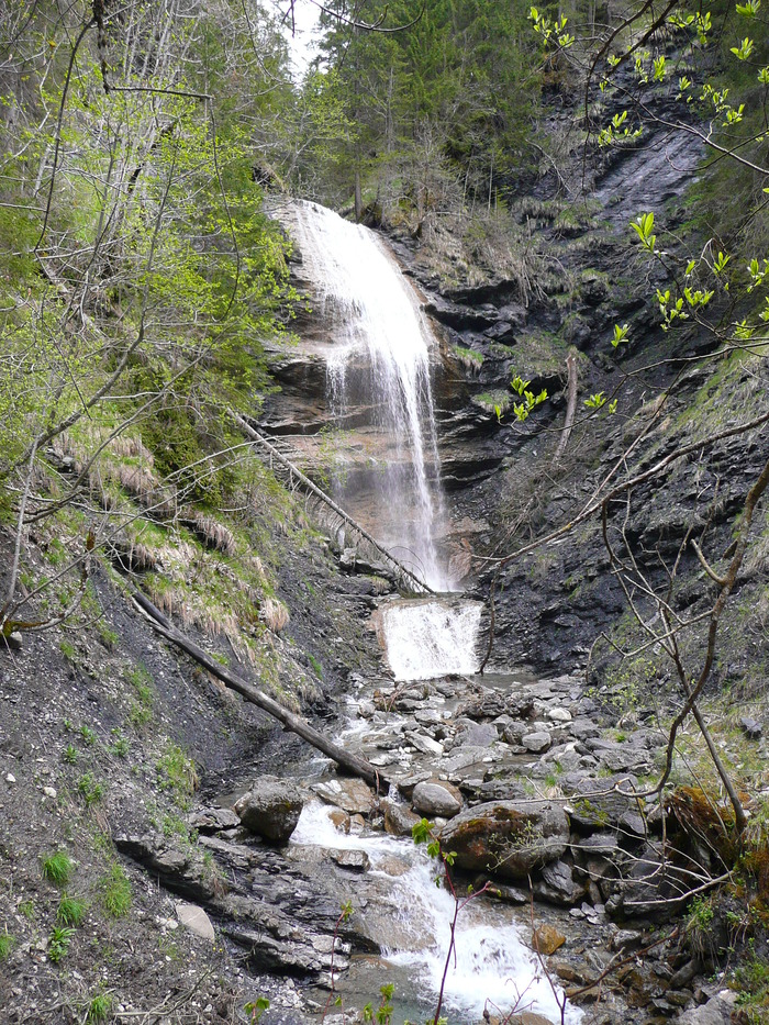 cascade du torrent