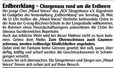 01.05.2013 Bürgerblatt
