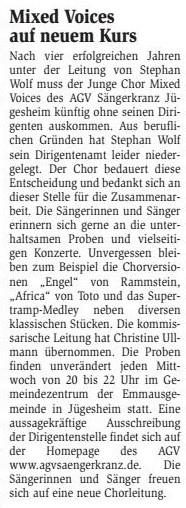 22.10.2014 Bürgerblatt