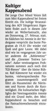 12.02.2014 Bürgerblatt