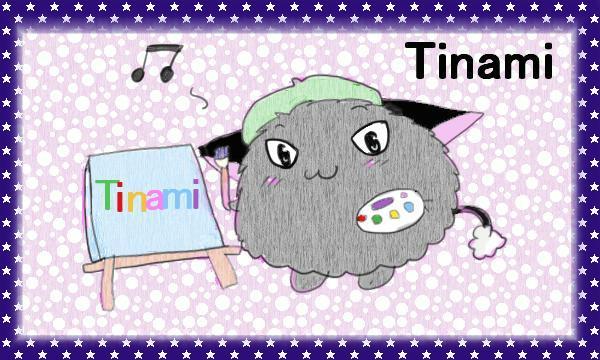 Tinamiリンクバナーを自サイト用で描いたぱりゅ<p>2018年3月27日に更新  Azpainter2使用