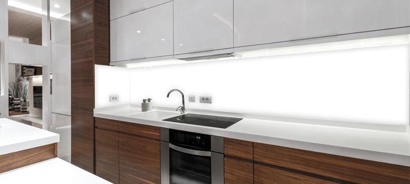 Küchenrückwände aus Glas - Culina Luce