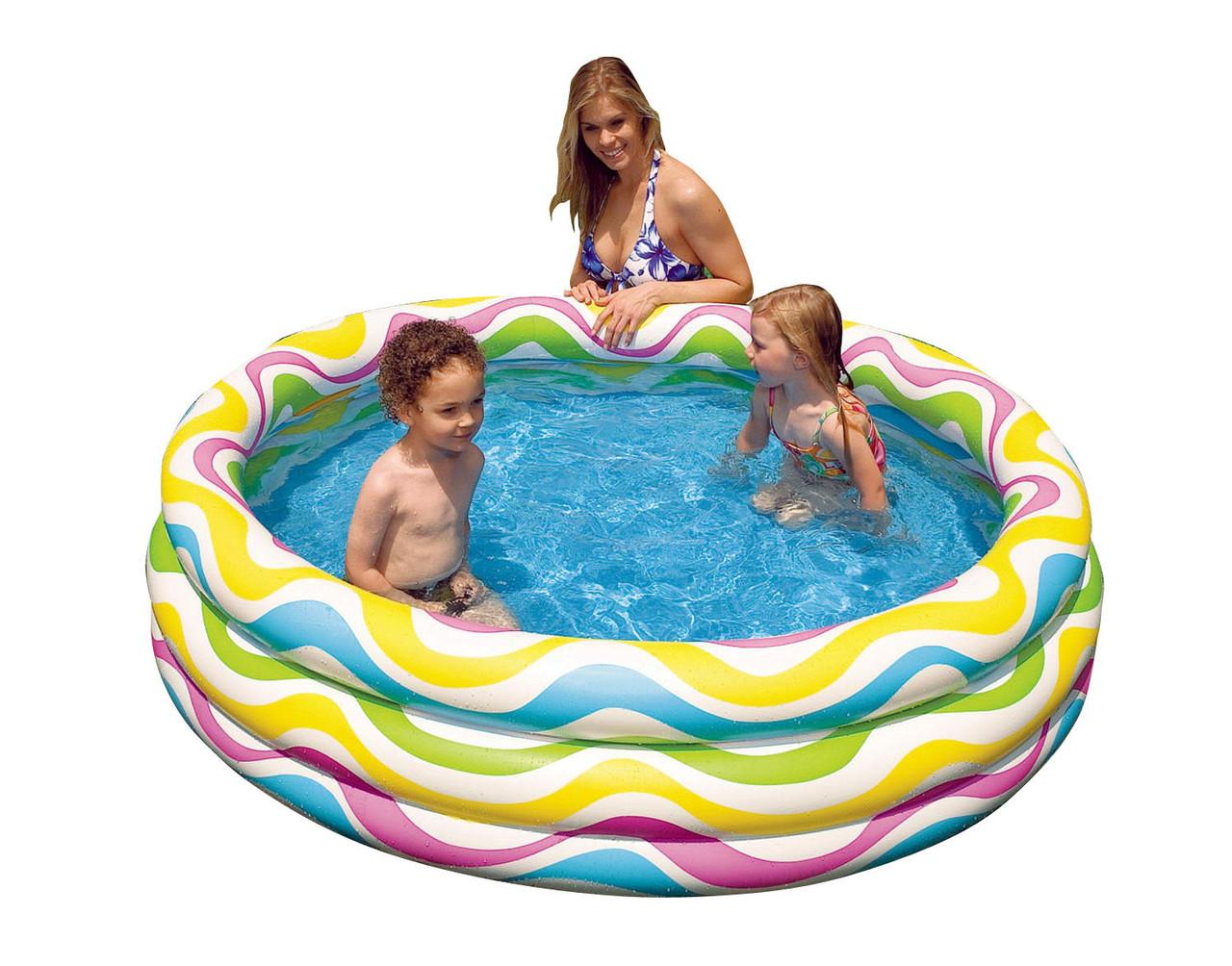 Intex piscina vuoto hook up