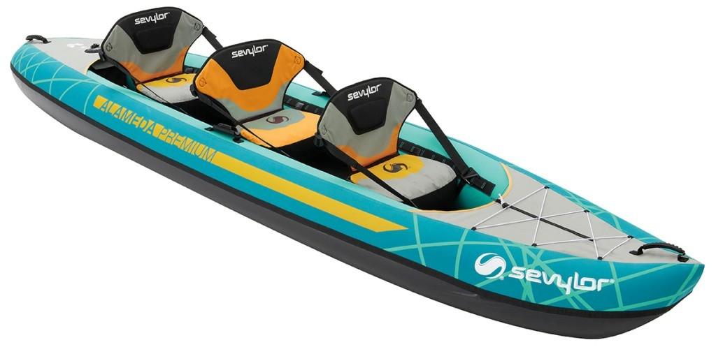 Canoe gonfiabili sevylor in grande offerta superga la for Piscina canoe