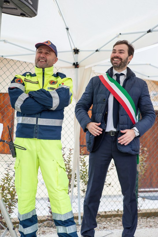 Thomas Braconi e Fabio Marziani
