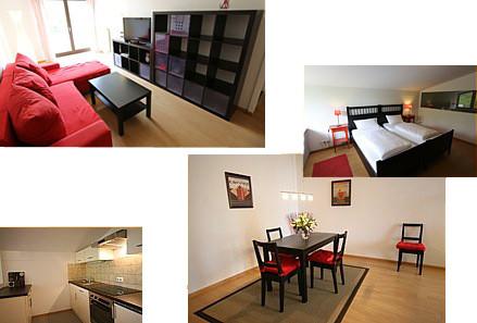 Ferienwohnung für 1-4 Personen, Familienzimmer