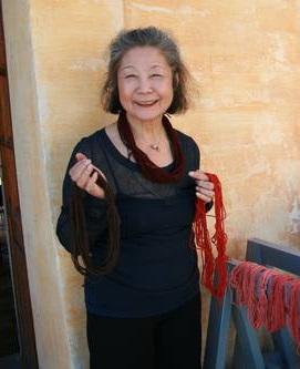 Textilkünstlerin Yoshiko I. Wada, Berkeley, USA