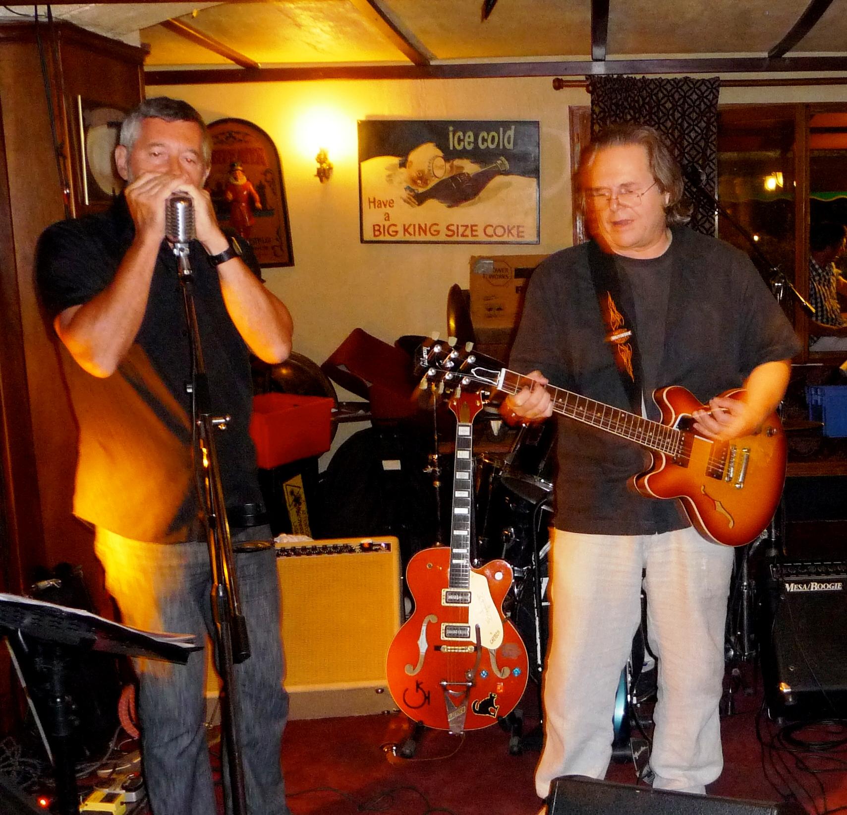 Marc et Brian au Monroes à Cogolin (83) en 2011.