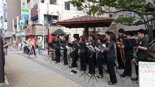 高崎おとまちフェスタに参加いたしました。 今後もイベントや訪問演奏等を通して、地域に愛される吹奏楽団を目指してまいります。