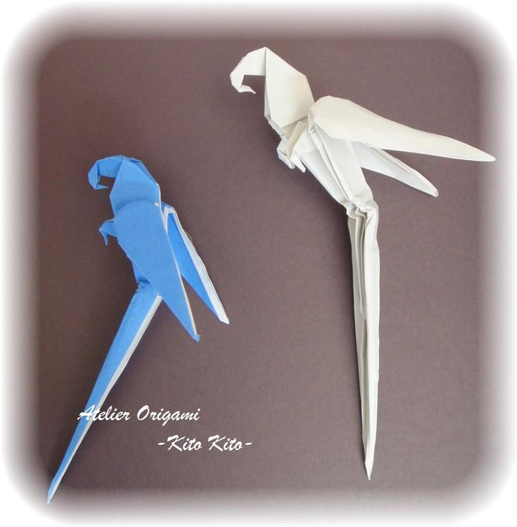 """L'origami """"Perroquet"""""""