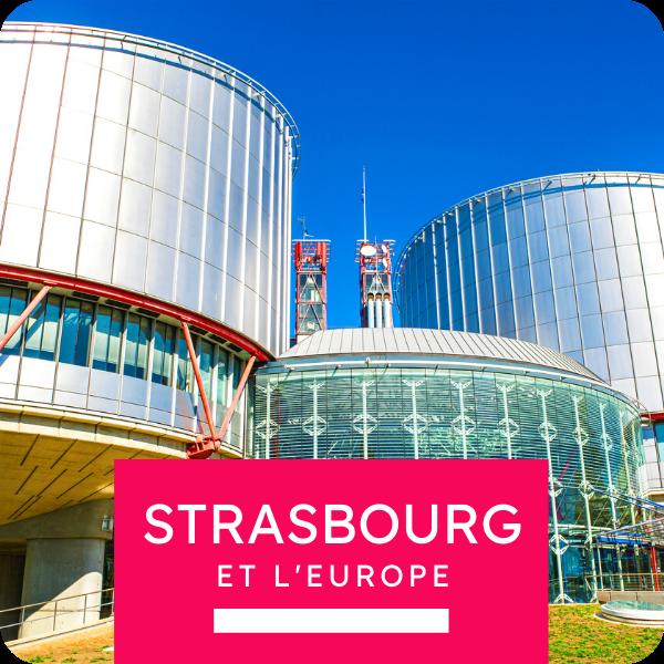 "Visite collective ""Strasbourg et l'Europe"""
