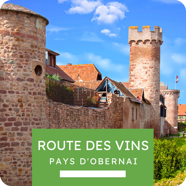 """Excursion """"Route des Vins - Pays d'Obernai"""""""