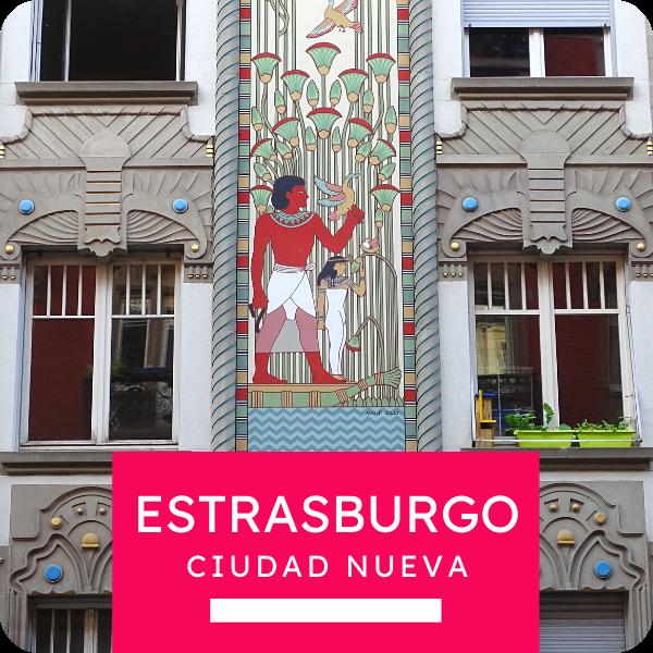 """Tour colectivo """"Estrasburgo, ciudad nueva"""""""