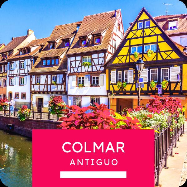 "Tour colectivo ""Colmar antiguo"""