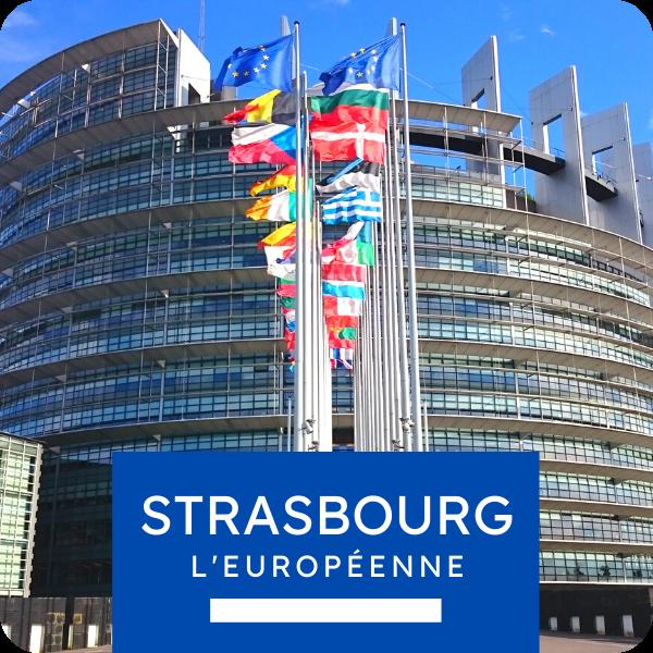 """Visite privée """"Strasbourg l'européenne"""""""