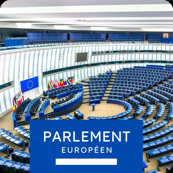 Visite privée du Parlement européen