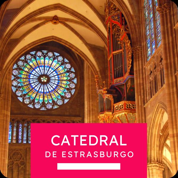 """Tour colectivo """"La Catedral de Estrasburgo"""""""