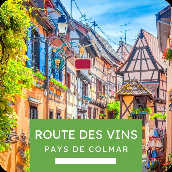 """Excursion """"Route des Vins - Pays de Colmar"""""""