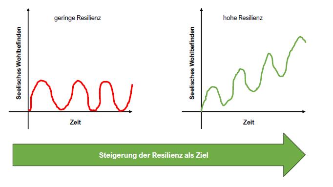 Resilienzkurven