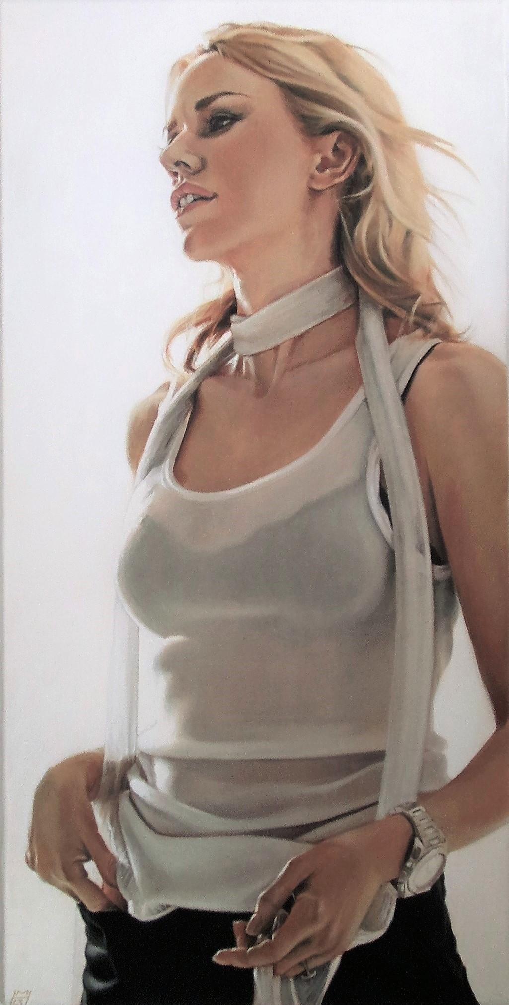 Naomi Watts, Akryl auf Leinwand, 80 x 160 cm