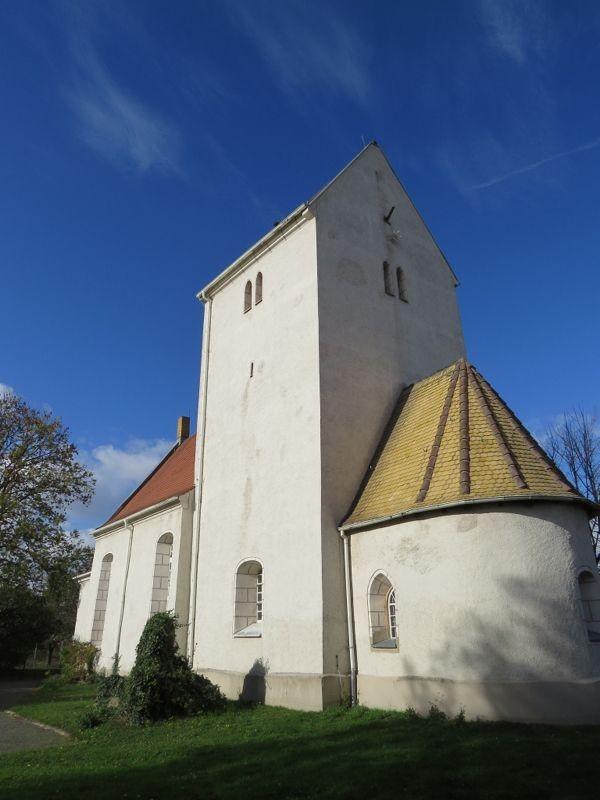 Die Kirche Hirschfeld.<p/>Foto: Karsten Peterlein