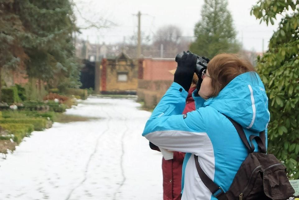 konnte man einige der Wintervögel besonders gut...