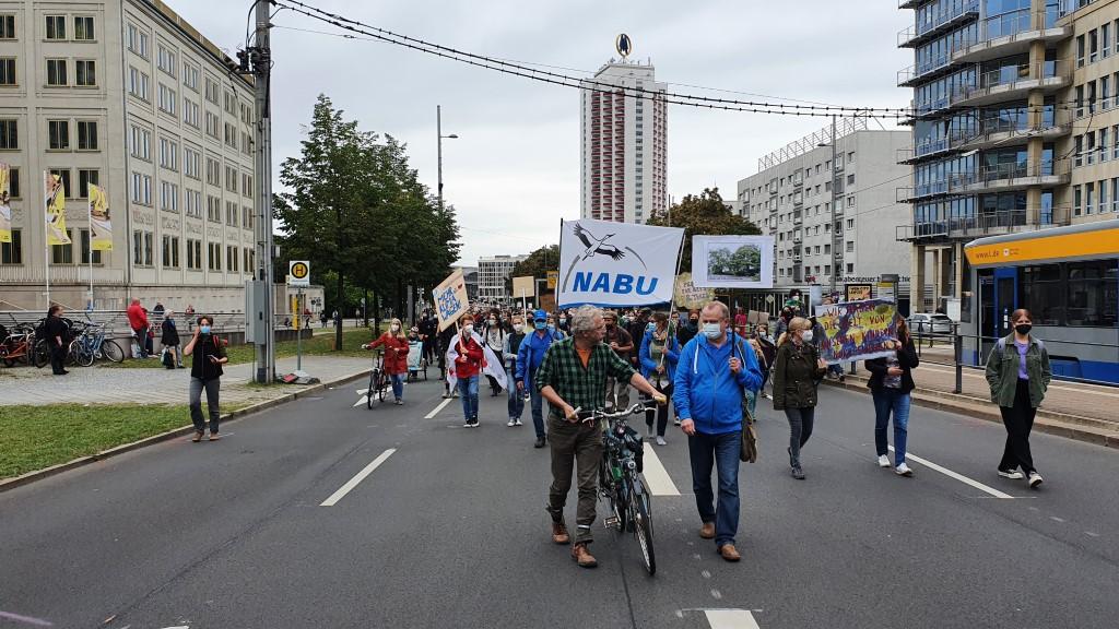 Demonstration für Natur- und Klimaschutz.<br/>Foto: René Sievert