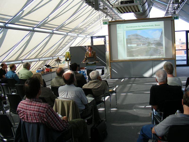 Matthias Herbert vom Bundesamt für Naturschutz ...