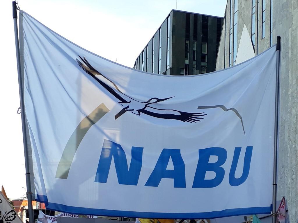 """Der NABU Leipzig hat sich an der Großdemo """"Alle fürs Klima"""" beteiligt."""
