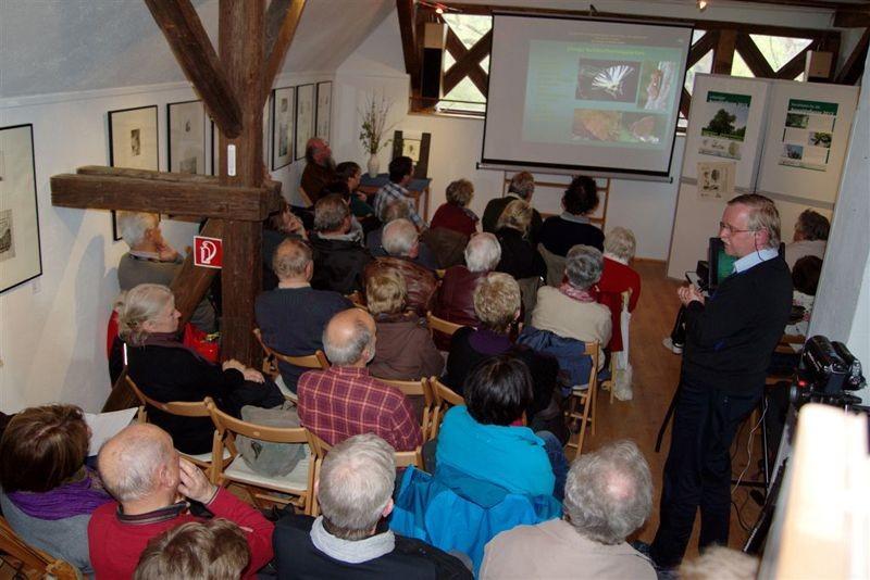 Fast 100 Naturfreunde kamen zum 18. Tag des Leipziger Auwaldes.