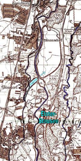 topografische Karte von 1953