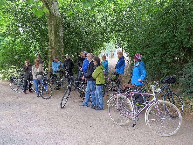 Am Sonntag führte eine weitere NABU-Radtour durch die Stadtnatur und zu Einsatzorten des NABU für Biotop- und Artenschutz in Leipzig. Eine Station war beispielsweise der Johannapark.