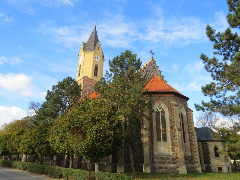Die Kirche Leipzig-Sommerfeld.<p/>Foto: Karsten Peterlein