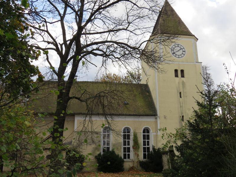 Die Stephanuskirche in Leipzig-Mockau.<p/>Foto: Karsten Peterlein